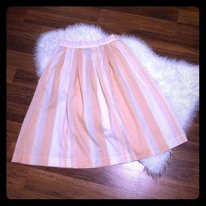 🦋2/$10 3/$15 4/$18 5/$20 Vintage Striped Skirt